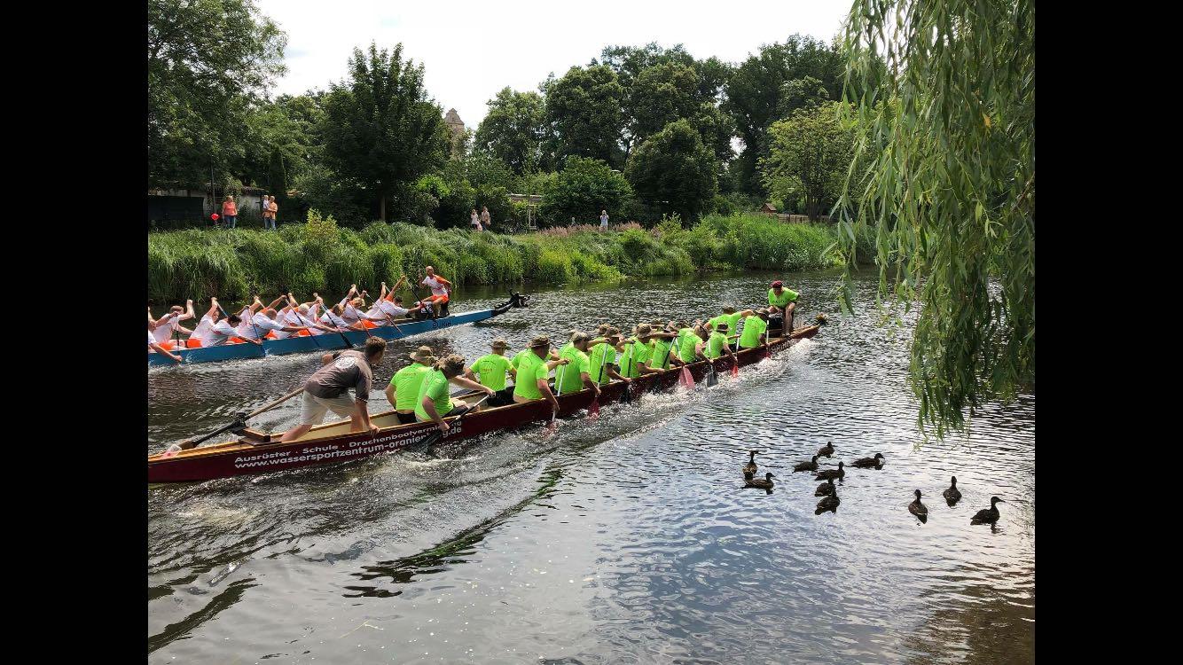 Drachenbootrennen SATO